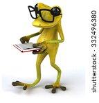 fun frog   Shutterstock . vector #332496380