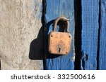 old lock3 | Shutterstock . vector #332500616