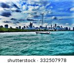 chicago view from lake michigan | Shutterstock . vector #332507978