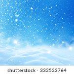 Winter Christmas Landscape Wit...