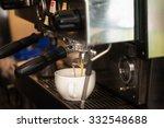 preparing coffee in coffee shop ... | Shutterstock . vector #332548688