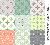 vector collection of bright... | Shutterstock .eps vector #332565038