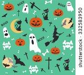 halloween | Shutterstock .eps vector #332583950