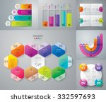 infographic design template can ... | Shutterstock .eps vector #332597693