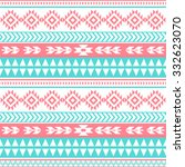 ethnic seamless pattern. tribal ... | Shutterstock .eps vector #332623070