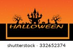 halloween background celebration | Shutterstock .eps vector #332652374