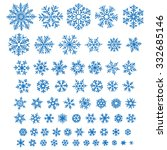 set of different hand drawn... | Shutterstock .eps vector #332685146