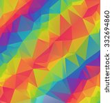geometric triangles polygonal... | Shutterstock .eps vector #332694860
