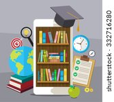 concept of education.... | Shutterstock . vector #332716280