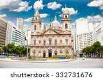 candelaria church in downtown... | Shutterstock . vector #332731676