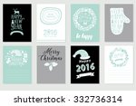 Collection Of 8 Christmas Card...