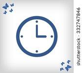 clock  icon | Shutterstock .eps vector #332747846
