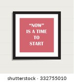 inspiration motivational life... | Shutterstock .eps vector #332755010
