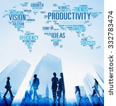 productivity vision idea... | Shutterstock . vector #332783474