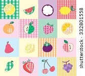 background fruit design | Shutterstock .eps vector #332801558