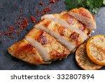 Roast Chicken Breast With Lemo...