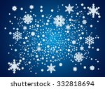 snowflakes and space for text....   Shutterstock .eps vector #332818694