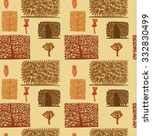 seamless pattern with...   Shutterstock .eps vector #332830499