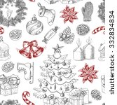 Seamless Christmas Pattern In...