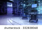 hardware in the server room and ...   Shutterstock . vector #332838068