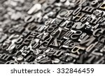 letterpress background  close... | Shutterstock . vector #332846459