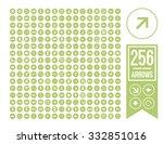arrow setarrow set icon. simple ... | Shutterstock .eps vector #332851016