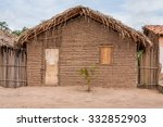 Typical Mud House Of The Poor...