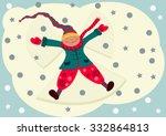 first snow | Shutterstock .eps vector #332864813