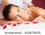 woman relaxing in the spa | Shutterstock . vector #332873420