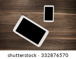 digital tablet  white... | Shutterstock . vector #332876570