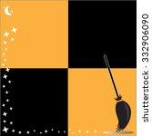 halloween vector background    Shutterstock .eps vector #332906090