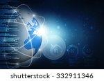 globe internet connecting | Shutterstock . vector #332911346