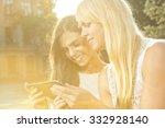 modern technologies. beautiful...   Shutterstock . vector #332928140