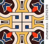 elegant floral pattern  ... | Shutterstock .eps vector #332931398
