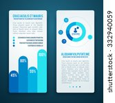 infographic business banners ... | Shutterstock .eps vector #332940059