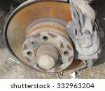 ������, ������: Rusted vehicle brake system