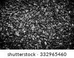 Crushed Gravel As Background O...