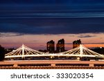 london at dawn.  view from... | Shutterstock . vector #333020354