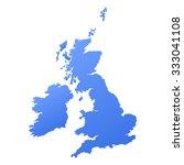 united kingdom great britain... | Shutterstock .eps vector #333041108