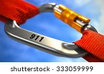 chrome ropes connected by white ... | Shutterstock . vector #333059999