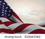 flag of the united states ... | Shutterstock . vector #333063560