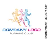 logo templates translucent... | Shutterstock .eps vector #333075539