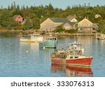 Tranquil Fishing Village In...
