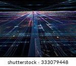 abstract digitally generated... | Shutterstock . vector #333079448