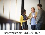 business team coffee break... | Shutterstock . vector #333091826