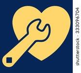 heart repair vector icon. style ... | Shutterstock .eps vector #333096704