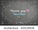 thank you teacher greeting on