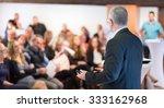 speaker at business conference...   Shutterstock . vector #333162968