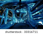 pipes  tubes  machinery and... | Shutterstock . vector #33316711