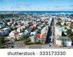 reykjavik city  view from the...